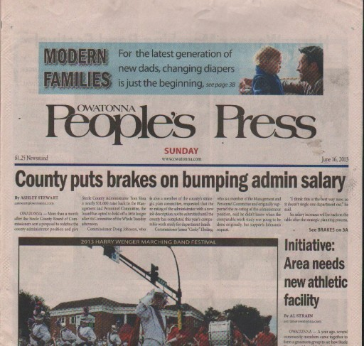 Media Scan for Owatonna People's Press