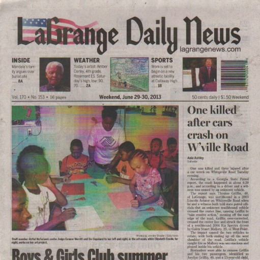 Media Scan for LaGrange Daily News
