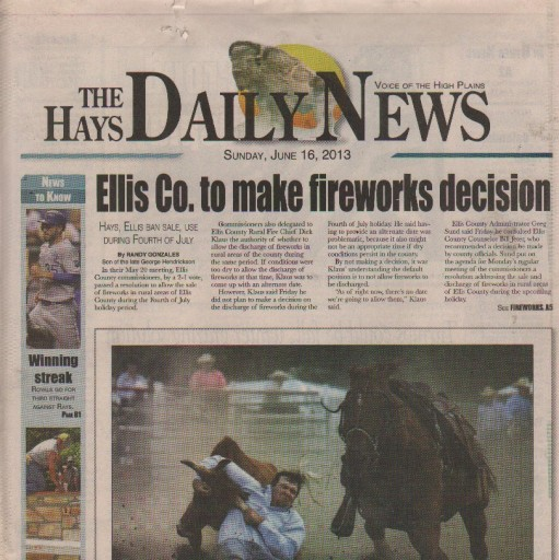 Media Scan for Hays Daily News