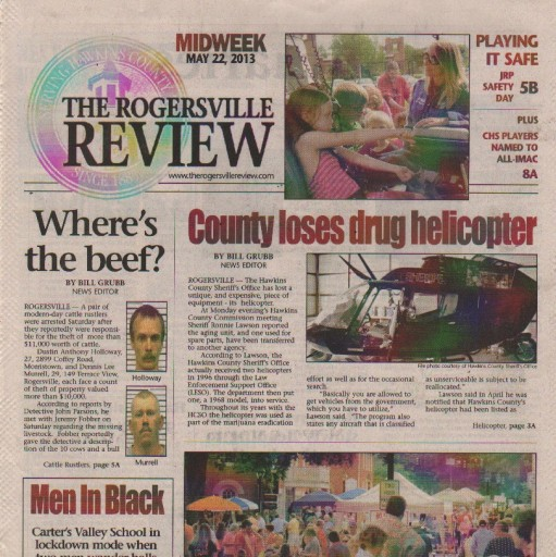 Media Scan for Rogersville Review