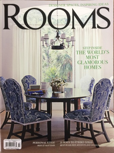 Media Scan for Rooms Magazine