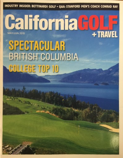 Media Scan for California Golf + Travel