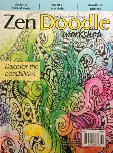 Media Scan for Zen Doodle Workshop