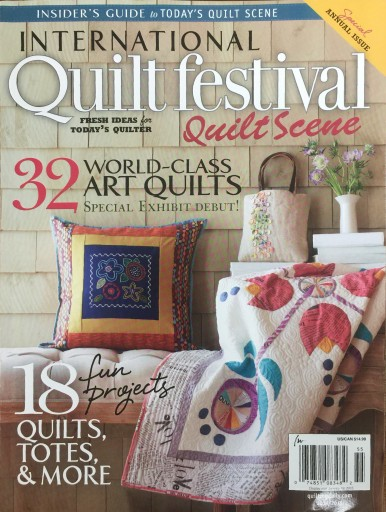 Media Scan for International Quilt Festival: Quilt Scene