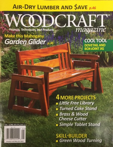 Media Scan for Woodcraft Magazine