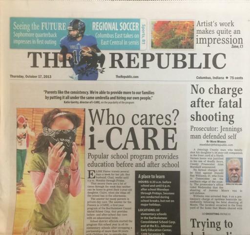 Media Scan for Columbus Republic