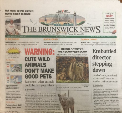 Media Scan for Brunswick News