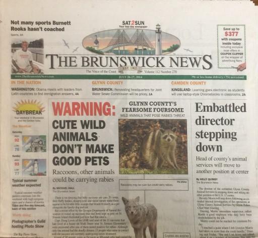 Media Scan for Brunswick News
