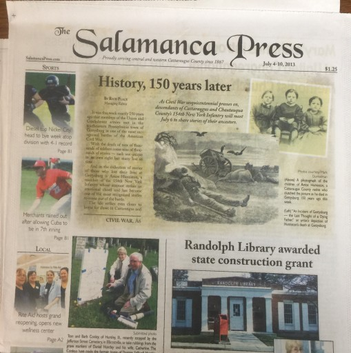 Media Scan for Salamanca Press