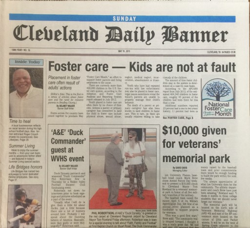 Media Scan for Cleveland TN - Daily Banner