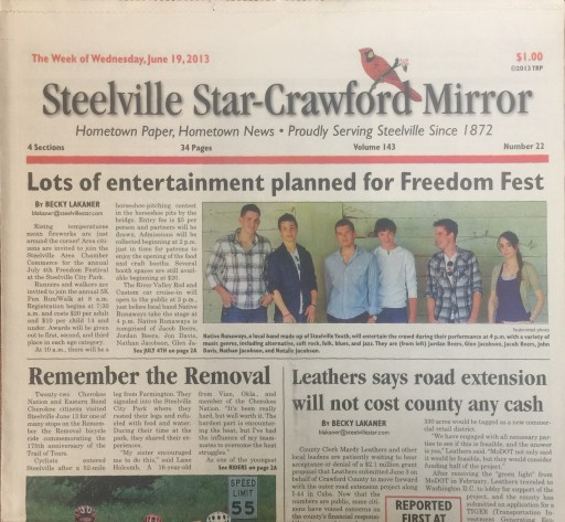 Media Scan for Steelville Star-Crawford Mirror