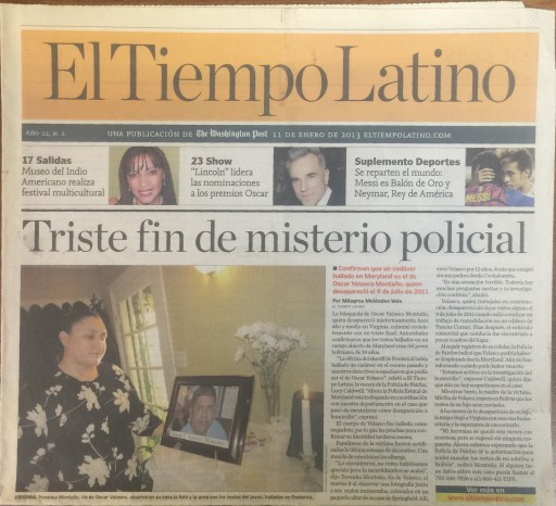 Media Scan for El Tiempo Latino - Washington DC
