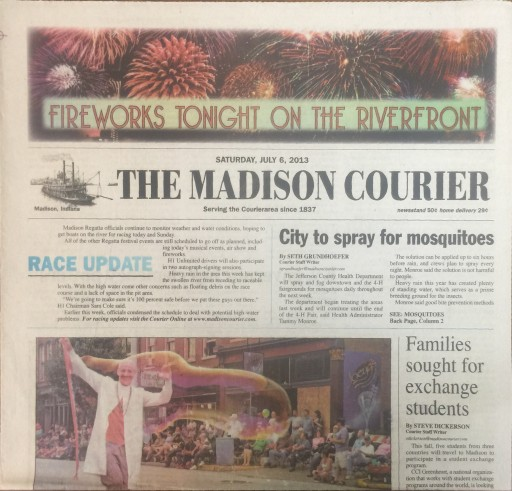 Media Scan for Madison Courier