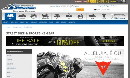 Media Scan for Motorcycle Superstore Package Insert Program