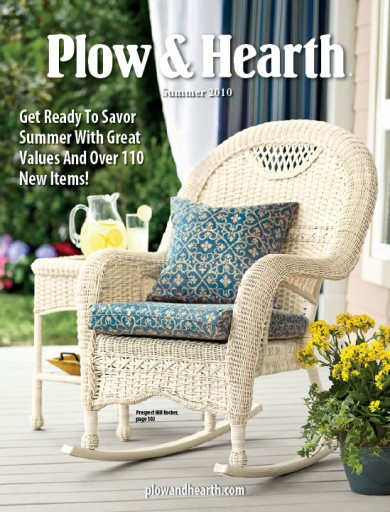 Media Scan for Plow & Hearth Catalog Blow-In Program