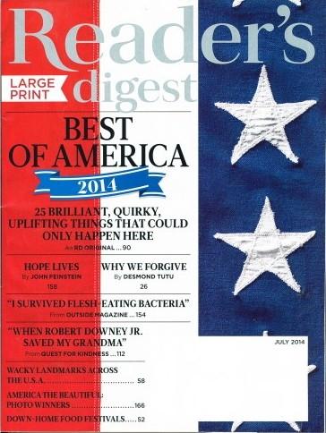 Media Scan for Reader's Digest Large Print Onsert Program