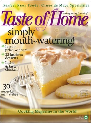 Media Scan for Taste of Home Onsert RAL