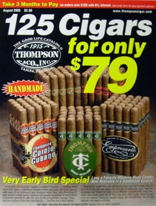 Media Scan for Thompson Cigar Catalog BIow-In