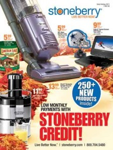Media Scan for Stoneberry Catalogs Statement Insert Program