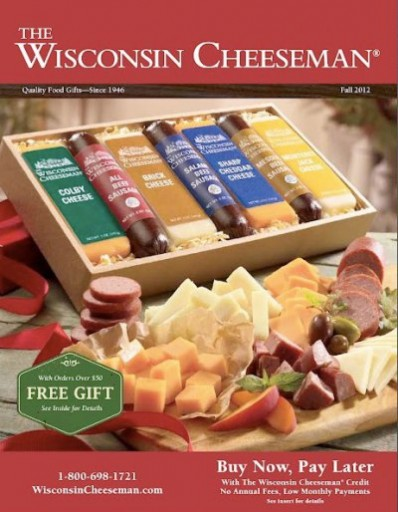 Media Scan for Wisconsin Cheeseman Catalog Blow-In