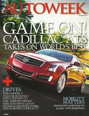 Media Scan for Autoweek Monthly Renewal Ride Along