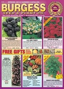 Media Scan for Burgess Seed & Nursery Catalog Inserts