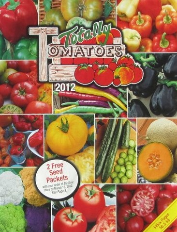 Media Scan for Totally Tomatoes Catalog Blow In