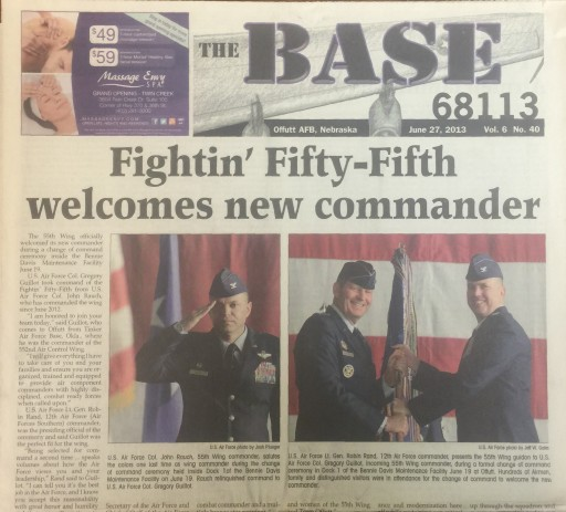 Media Scan for Offutt AFB The Base 68113