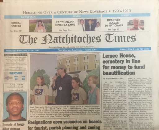 Media Scan for Natchitoches Times