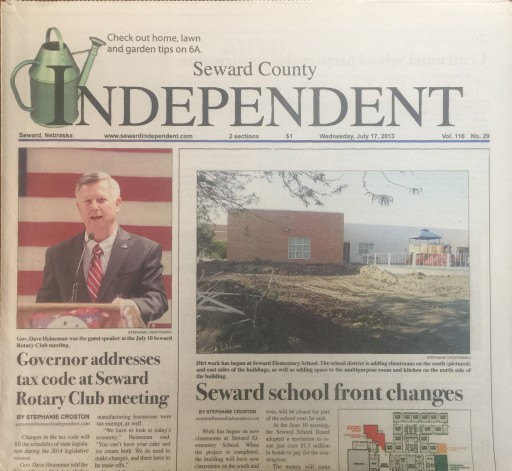 Media Scan for Seward County Independent