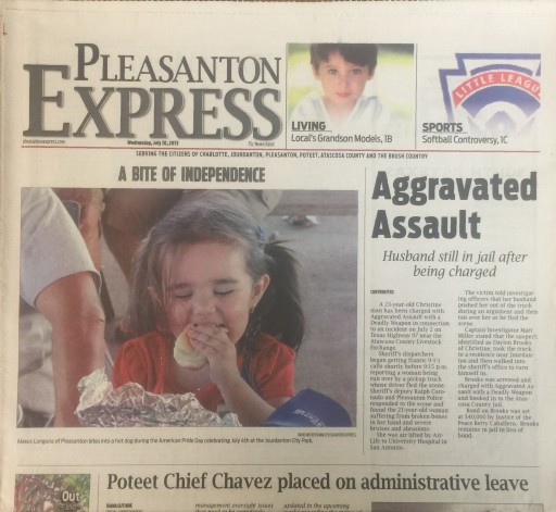 Media Scan for Pleasanton Express