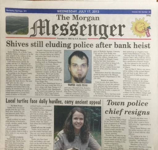 Media Scan for Morgan Messenger