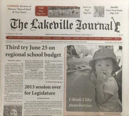 Media Scan for Lakeville Journal