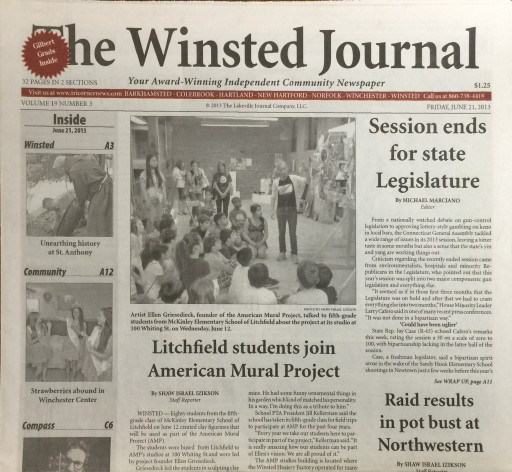 Media Scan for Winsted Journal