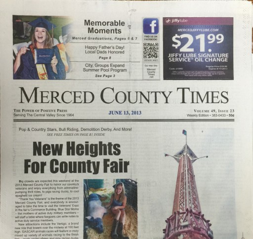 Media Scan for Merced County Times