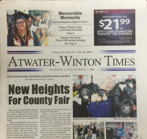 Media Scan for Atwater Times