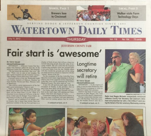 Media Scan for Watertown Daily Times