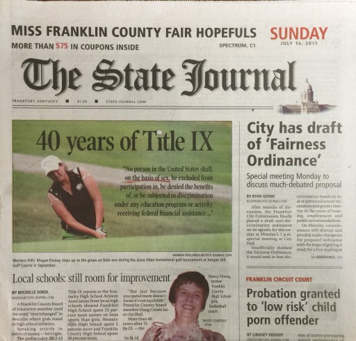 Media Scan for Frankfort State Journal