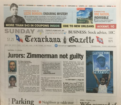 Media Scan for Texarkana Gazette