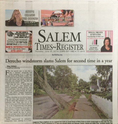 Media Scan for Salem Times-Register