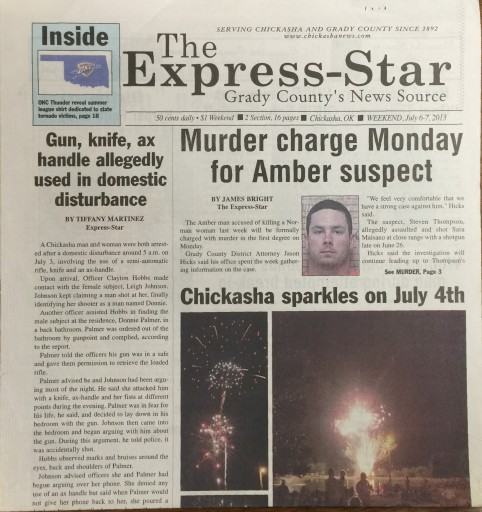 Media Scan for Chickasha Express-Star