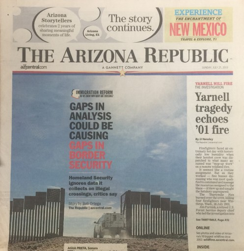 Media Scan for Phoenix Arizona Republic