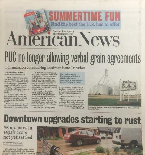 Media Scan for Aberdeen American News