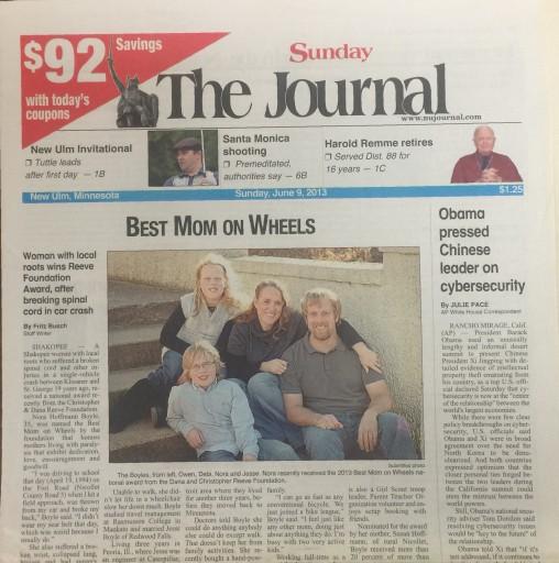 Media Scan for New Ulm Journal