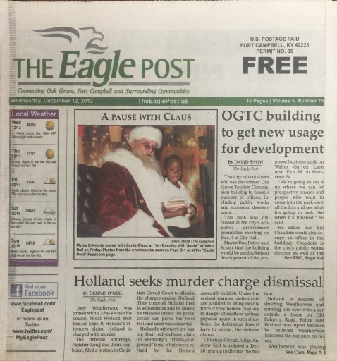 Media Scan for The Eagle Post