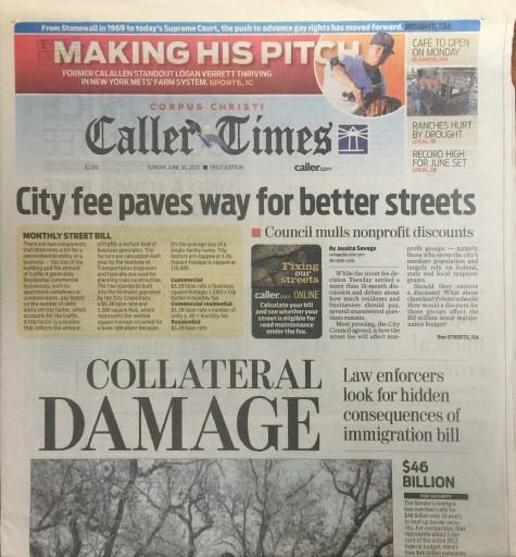 Media Scan for Corpus Christi Caller-Times