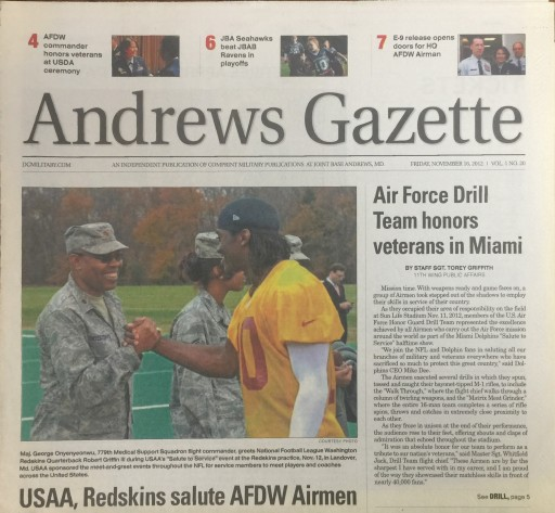 Media Scan for Andrews Gazette