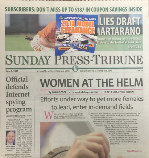 Media Scan for Nampa Idaho Press-Tribune