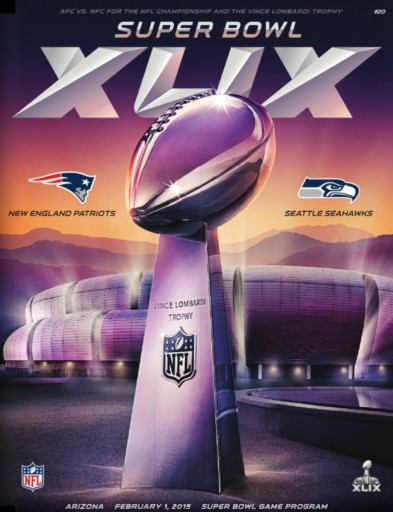 Media Scan for NFL Super Bowl Program