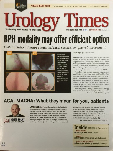 Media Scan for Urology Times